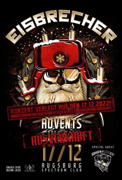 EISBRECHER Adventssingen - ausverkauft - 17.12.2022